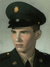 Bud Calkin in the Army — 1959
