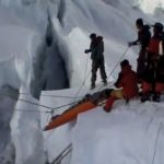 Sked aided rescue on Mt. Everest